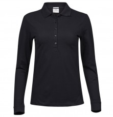 LADIES LUXURY LS STRETCH POLO 146 04.TJ.1.426.2A00