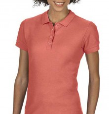 SOFTSTYLE<sup>®</sup> LADIES DOUBLE PIQUE POLO 64800L 04.GI.1.820.5C00