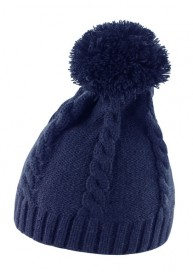 CABLE KNIT POM POM BEANIE R149X 10.RE.4.295
