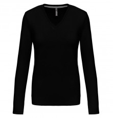 LADIES' LONG SLEEVE V-NECK T-SHIRT 05.KA.1.937.2A00