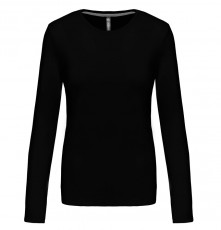 LADIES' LONG SLEEVE CREW NECK T-SHIRT 05.KA.1.941.2A00