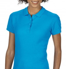 SOFTSTYLE<sup>®</sup> LADIES DOUBLE PIQUE POLO 64800L 04.GI.1.820.4C20