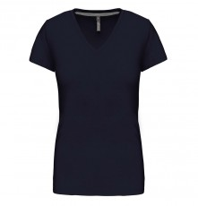 LADIES' SHORT SLEEVE V-NECK T-SHIRT 05.KA.1.936.4A32